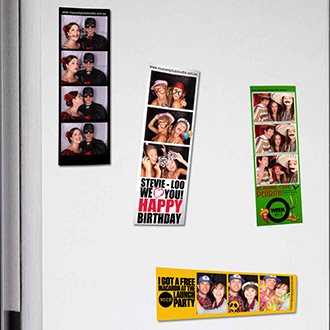 magnetic photo strips