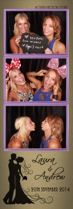 Laura wedding photo strip