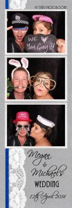 Megan wedding photo strip