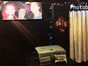 projector photo booth