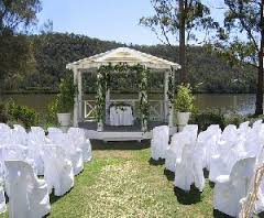 The Retreat Open Day wedding set up