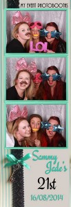 sammy jade birthday photo strip
