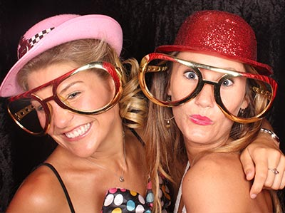 photo booth girls Australia Day