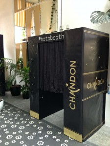 Chandon photo booth