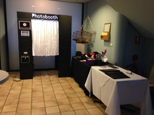 Boathouse booth